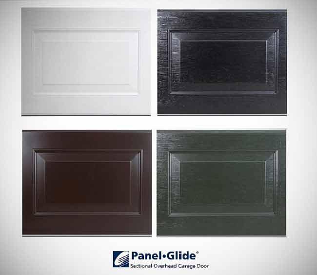 Sectional Garage Doors - Colour Chart (White Black Vandyke Brown Racing Green & Sectional Garage Door Colour Chart - Roller Doors Ltd