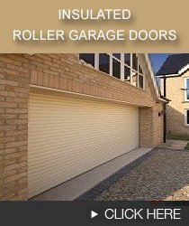 Insulated roller garage doors banner