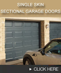 single skin sectional garage doors