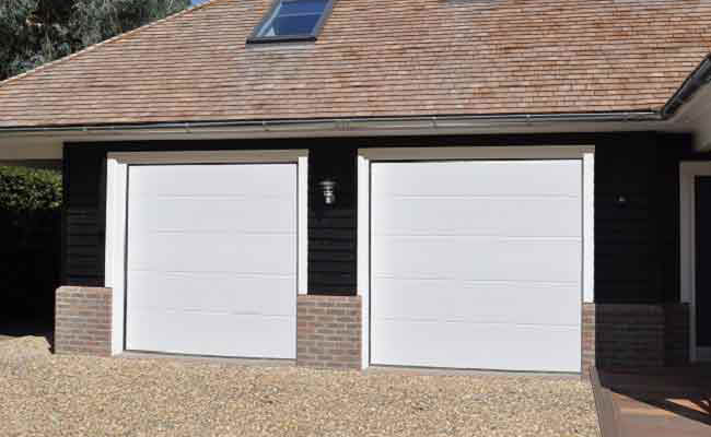 Seceuroglide Insulated Sectional Garage Doors View Uk