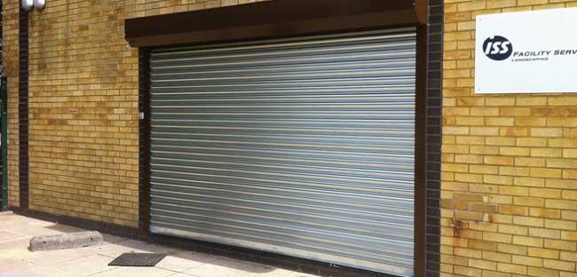 Seceuroshield 75 Galvanised Roller Shutter Door
