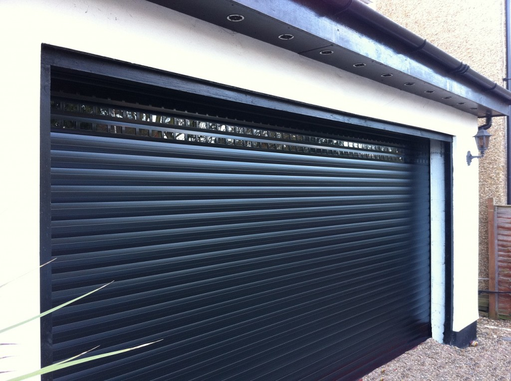 Replacing Wooden Garage Doors In Surrey Case Study By Roller Doors Ltd