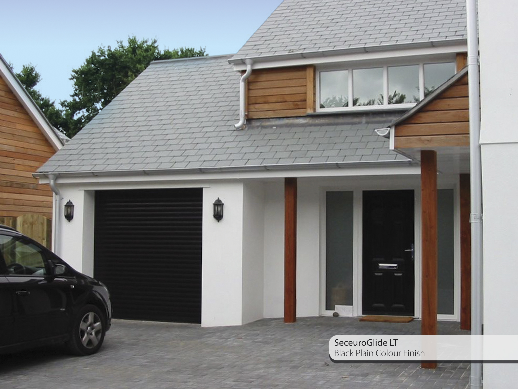 Seceuroglide insulated sectional garage door georgian cassette - Roglide Lt Black Jpg 2 048 1 536 Pixels Garage Door And Front Door Pinterest Garage Doors Roller Shutters And Black Garage Doors