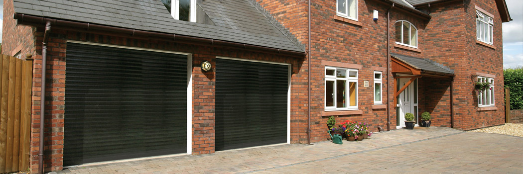 Seceuroglide double garage doors